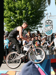 Ride Style Event: Candid (shaire productions) Tags: sf sanfrancisco park people man male guy sports bike wheel sport cycling photo bmx ride image action sfo candid extreme tricks event riding photograph gathering fixedgear extremesports moment rider redbull xtreme imagery ridestyle rideandstyle