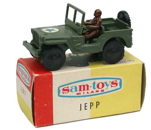 Sam Toys Jeep
