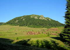 késő délután / late afternoon (debreczeniemoke) Tags: summer mountain forest landscape land hegy lateafternoon táj gutin nyár erdő szekatura késődélután canonpowershotsx20is outstandingromanianphotographers secătura