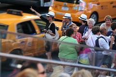 mermaid parade 2012 (iamtonyang) Tags: new york island taxi parade fedora mermaid coney 2012 hailing mermaidparade2012