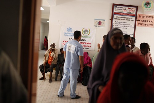 Somaliland. Free cataract surgeries implemented by IHH in cooperation with World Health Organization (WHO). June 2012