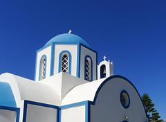 Santorini (H Sinica) Tags: cruise church greek volcano aegean santorini greece caldera christianity orthodox cyclades volcaniceruption 爱琴海 familychurch