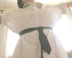 Em (Carrots-Gilly) Tags: light white shirt tie faceless portraitportraitportraitportraitportraitportrait