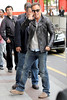 Bruce Springsteen Celebrities depart The Ritz Hotel to attend Paris Fashion Week Fall / Winter 2013 Paris, France