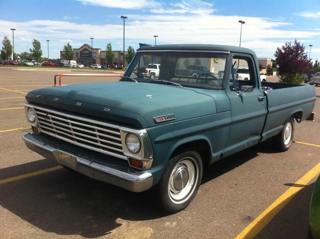 ford truck pickup f100 1967