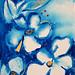 Kay Jelinek - Blue Flowers - small works-Small Works SVA 2012