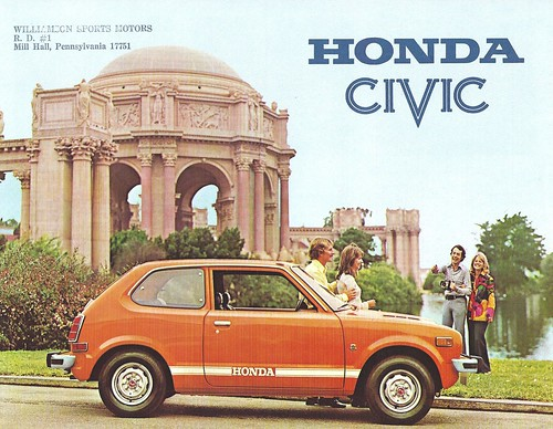 1974 Honda CiViC by Hugo90, on Flickr