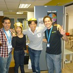 Hanging out with Tokyo Otaku Mode gang and Matías at 500 Startups.