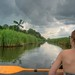 Incoming thunderstorm while canoeing