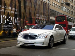 Xenatec (BenGPhotos) Tags: white london car s german custom tuning luxury rare coupe spotting 57 maybach tuned 57s xenatec cruiserio