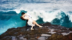 Love to the extremes (Pixelinthebox) Tags: ocean wedding portrait cliff love nature nikon couple extreme wave amour mariage mauritius vague falaise ilemaurice extrme d700 larochequipleure nikond700 pixelinthebox julienvenner weddingphotographermauritius photographsmarriageilemaurice