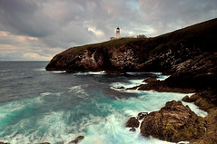 Tiumpan Head Lighthouse in the gloaming, Isle of Lewis (iancowe) Tags: light lighthouse sunrise dawn scotland twilight head scottish stevenson outer minch hebrides gloaming tiumpan stornoway northernlighthouseboard nlb lighthousetrek wbnawgbsct