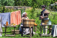 Reenactors 16 at Martin's Station (Traveler Jim) Tags: raid ewing vitginia wildernessroadstatepark martinsstation