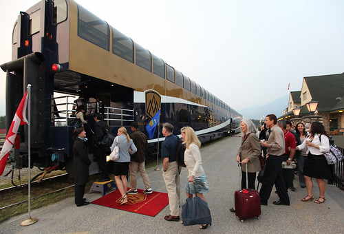 The Rocky Mountaineer from The Luxury Train Club