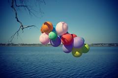After party (Khuroshvili Ilya) Tags: 2009 balls air colors sky water balloons minimal minimalism atmospheric emotional concept nvbr nvbr11 canon art portfolio abstract