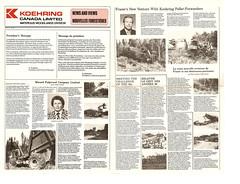 Koehring News Letter-1980 pg.1-2 (The Koehring Guy) Tags: logging feller waterous koehring k4l k3ff forwarderkff