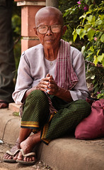 The bald and the beautiful (DMac 5D Mark II) Tags: cambodia portrait asia asian google daum naver baidu images photography photojournalism journalism canon eos 5d mark ii street travel tourism explore explored interesting interestingness getty artist best top korea good luck douglas macdonald photographer fave art most viewed woman women people culture cultural friend wow 2012 old granny grandmother bald googleimages gettyimagesartist canoneos5dmarkii older wwwfredmirandacom fredmiranda camera lens reviews instagram nature natural