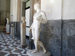 Polykleitos, Doryphoros, in hall