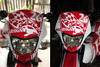 Honda XRM125 HEAD LIGHT (macarhign) Tags: honda offroad 26 motorcycle headlight motard xrm headlightcover hondaxrm125 xrmmotard macarhign fairingdesign redandwhitexrm xrmoffroad