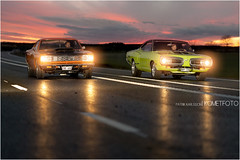 Battle in the night [EXPLORED] (Patrik Karlsson 2002tii) Tags: foto super bee roadrunner patrik karlsson komet kometfoto