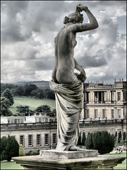 Statue, Chatsworth gardens (robin denton) Tags: nude derbyshire bottom nudist cavendish hdr chatsworth listed chatsworthhouse historichouse dukeofdevonshire stateleyhome grade1listing canonpowershotsx40hs