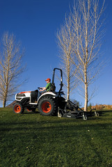 CT235 Compact Track Loader with Mower (Bobcat Company) Tags: grass lawn bobcat mowerattachment personaluse savetime compacttractor ct235