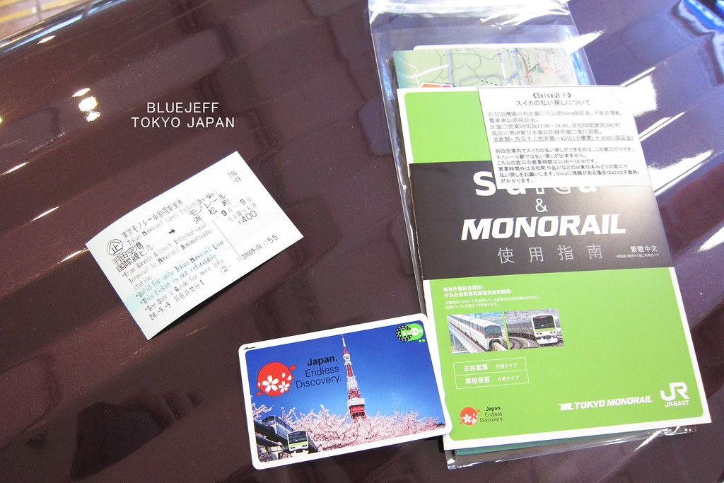 Suica & Monorail Combo