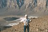 ...the trou au natron is a huge caldera of the depth of more than 1000 m... (michael_jeddah) Tags: sahara desert chad caldera wüste volcanism vulkanismus tibesti trouaunatron natronloch
