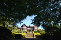 P1120931 (tanny ♪) Tags: city autumn house green fall japan tokyo october furukawateien