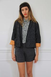1980s dolman sleeve jacket