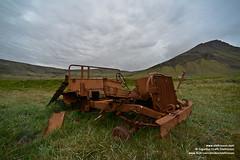 shs_n8_004343 (Stefnisson) Tags: summer west car landscape iceland rust 4x4 sumar fjords sland vestfirir westfjords ry bl blhr stefnisson