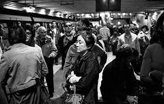 (Subterranean State of Mind) (Robbie McIntosh) Tags: leica blackandwhite bw woman film monochrome analog train 35mm underground subway japanese kodak bokeh candid trix streetphotography rangefinder stranger bn passengers summicron negative 400 analogue eastern m6 2stoppush biancoenero argentique leicam6 dyi selfdeveloped pellicola kodaktrix400 analogico leicam6ttl emofin leicam filmisnotdead circumvesuviana autaut leicasummicron35mmf20iv twobathdeveloper tetenalemofin leicasummicron35mmf2iv summicron35mmf20iv pushed1600iso
