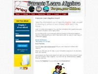 Parents Learn Algebra – in Plain English (Kathleen Mosely) Tags: word for parents education geometry exams math teach solving problems exam tests algebra fractions trigonometry