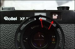 Rollei XF35 Lens Hood (02) (Hans Kerensky) Tags: thread contrast rollei lens rangefinder filter flare hood mm 135 35 voigtlnder vf sonnar xf colorskoparex 46x075 anywhitefieldtagbyflickrsspamtagbot