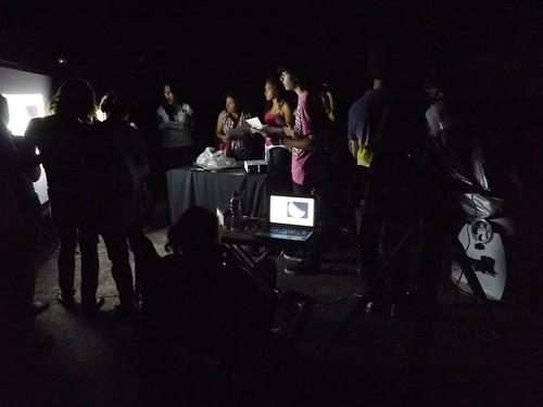 Grupo en Liberia por Milton Fernández