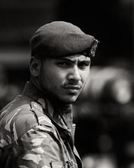 Portret van een militair (Maarten Otto) Tags: centrum almere 2014 militair beëdiging