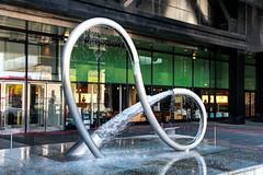 Water swirl (ragingr2) Tags: hdr highdynamicrange water fountain citédessciencesetdelindustrie paris art sculpture artinpublic publicart curve curves round shape