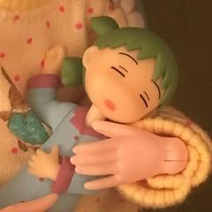 I'm listening. I just have my eyes...zzz  (Ringochan39) Tags: anime doll yotsuba luckystar mamachapp