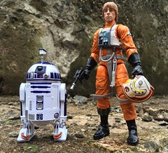 Luke: Are you picking up any lifeforms R2? I can't sense any myself. (chevy2who) Tags: 6 black toy star starwars inch action figure series wars six