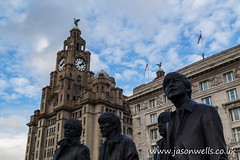 Fab Four (wellsie82) Tags: city urban music statue liverpool canon outdoors eos 60s waterfront faces famous statues unescoworldheritagesite unesco beatles johnlennon liverbird iconic figures ringostarr thebeatles 1963 paulmccartney georgeharrison fabfour andyedwards 6d jasonwells liverbuilding royalliverbuilding cunardbuilding mersyside liverpoolwaterfront wellsie82 wwwjasonwellscouk jasonwellscouk