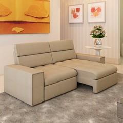 Sofa 2 Lugares Retratil Reclinavel Itapema Linho Areia ArteSofas_C1 (domcio ferreira) Tags: art arquitetura cores design 3d arte interiores decorao quadros projetos telas maquetes