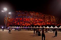 The Birdsnest.  Beijing - China (estenard) Tags: china stadium beijing silkroad olympics birdsnest