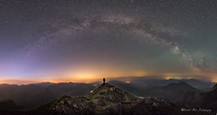Never Give Up (Gareth Mon Jones) Tags: mountains astrophotography milkyway starscape
