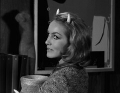 "Julie Newmar, ""Of Late I Think of Cliffordville"" 19 (Tom Simpson) Tags: woman sexy television vintage devil 1960s pinup devlin julienewmar succubus thetwilightzone vintagetelevision"