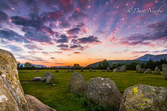 Keswick , castferigg stone circle (davenewby123) Tags: trees sunset sky lake mountains field stone sunrise circle landscape legs brothers outdoor district lakedistrict bridges rivers streams grassland keswick windermere castlerigg bottomley canoneos70d amblesid tokia1116dxll