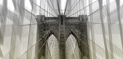 spider web unweaved (rayordanov) Tags: city newyorkcity bridge manhattan creative brooklynbridge