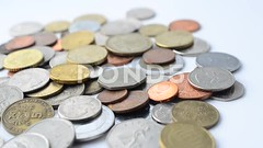 062894478-coins-different-countries-worl (daria.boteva) Tags: africa greatbritain usa india white money heritage history metal century vintage silver gold golden store coin ancient rust europe king treasure euro wallet antique cent capital fine mint rusty tudor cash business age dollar crown savings past discovery find collect currency isolated shilling banking wealth finance pence monetary rupee groat