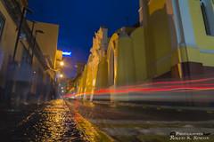 Revolucin. (rogersrincon2893) Tags: las de mexico luces la calle los lluvia y catedral autos veracruz revolucion bajan xalapa junto cascadas