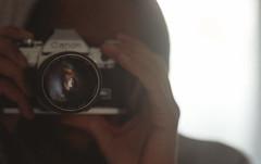 Self 01. (Leon.Antonio.James) Tags: people color london film analog 35mm canon hand ae1 grain ishootfilm 35mmfilm analogue canonae1 agfa tones 135mm ilovefilm filmisnotdead filmisalive longlivefilm beliveinfilm buyfilmnotmegapixels leonantoniojames shootfilmstaypoor dustgrainandscratch