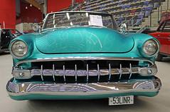 1953 Ford Sunliner Custom (crusaderstgeorge) Tags: cars ford sweden chrome sverige colourful custom classiccars 1953 americancars sandviken sunliner americanclassiccars granssonarena arenawheels americancarsinsweden crusaderstgeorge 1953fordsunlinercustom 53linr